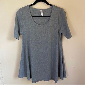 Lularoe Gray Classic Trapeze T-Shirt